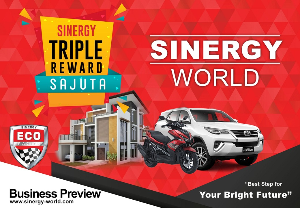 sinergy triple reward sajuta
