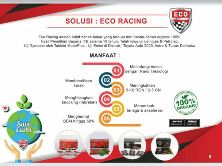 manfaat eco racing